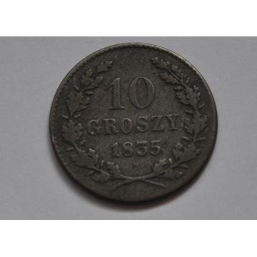 Wolne Miasto Kraków 10 groszy 1835 Wiedeń