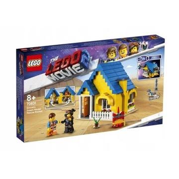 LEGO MOVIE 2 Dom Emmeta Rakieta 70831 - NOWE