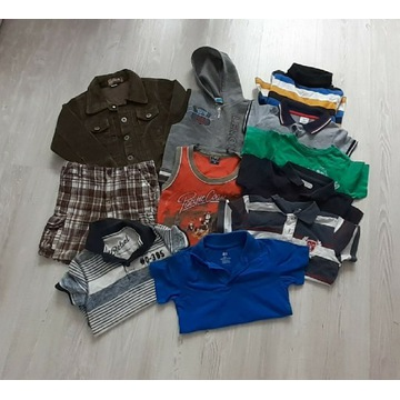Mega paka dla chłopaka zestaw ubrań 98/104cm
