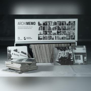Archimemo, modernizm w Warszawie, gra pamięciowa