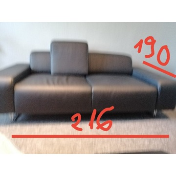 Sofa i fotel skóra helvetia furniture