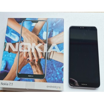 Nokia 7.1 stan bdb oryginalne pudełko bez simlocka