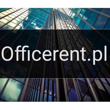 Domena internetowa Officerent.pl / wynajem biura