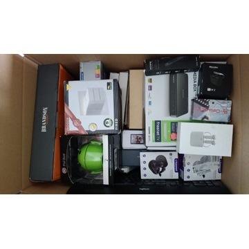 Karton Mix Elektorniki Amazon 50 szt