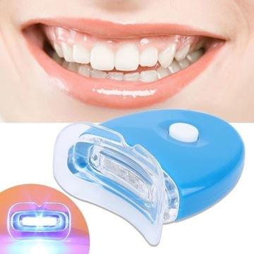Domowa mini lampa do wybielania zębów + prezent