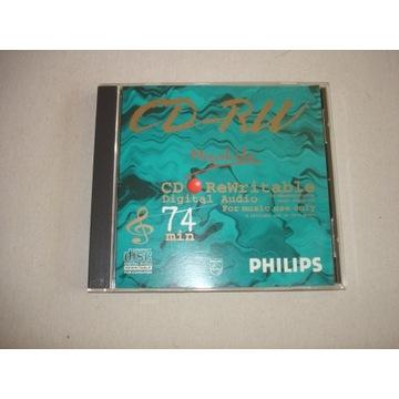 PHILIPS Megalife CD-RW 74 min Digital Audio UNIKAT
