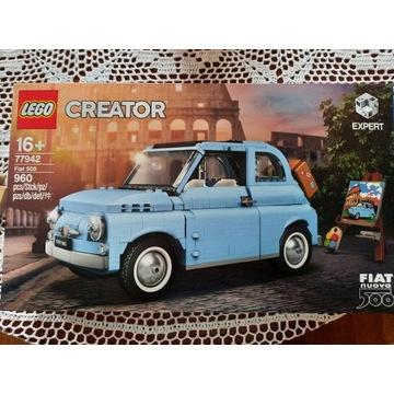 Lego Creator Expert Fiat 500 Niebieski 77942 10271