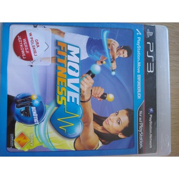 Gra PS3 Move fitness, move