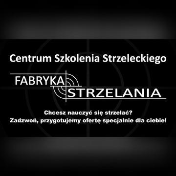 Strzelanie z broni Strzelnica Kostrzyn, Lubuskie