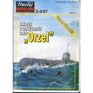 Mały Modelarz 2-3 1997 ORP ORZEŁ okręt podwodny