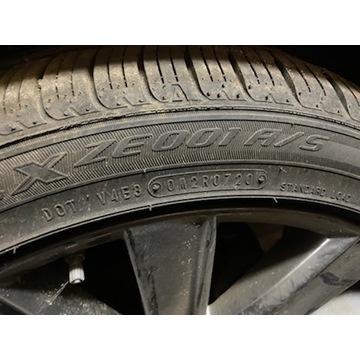 Opona Falken Ziex ZE001 A/S 225/45/19 2020 Mazda 6