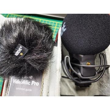 Mikrofon RODE Stereo VideoMic Pro Rycote