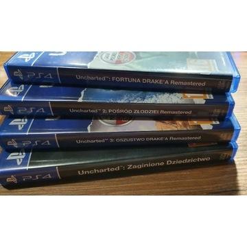 Gra PS4 Kolekcja UNCHARTED - PL Idealny stan