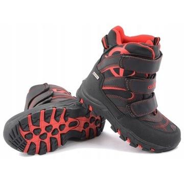 Buty zimowe chłopięce wodoodporne rozm. 32 j.nowe