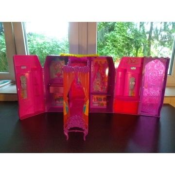 zabawka rozkładana pałac sypialnia Barbie