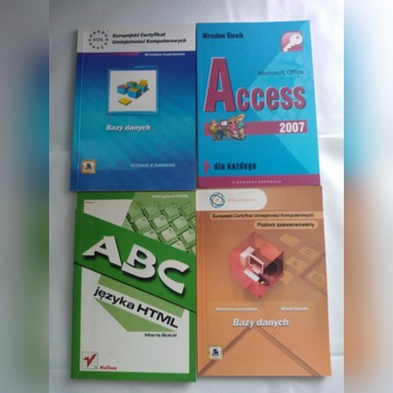 Kursy komputerowe Access Bazy danych HTML