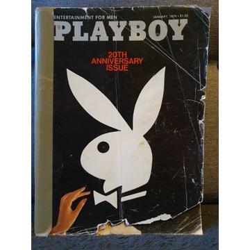 Playboy wyd. specjalne USA z okazji 20-lecia 1974