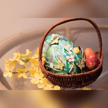 Jajko wielkanocne ozdobne