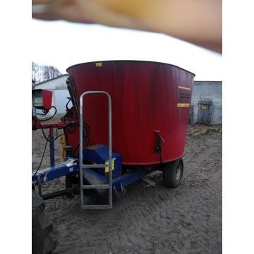Wóz paszowy, paszowóz 8 m3 Sano Siloking