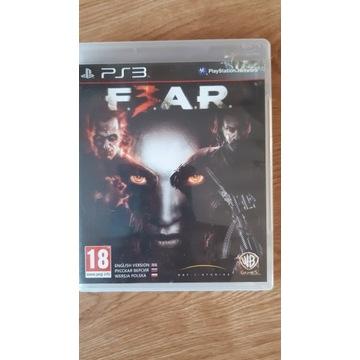 F.3.A.R. F.E.A.R. FEAR gra na konsolę PS3