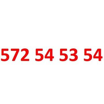 572 54 53 54 starter orange złoty numer 20zl+ 50GB