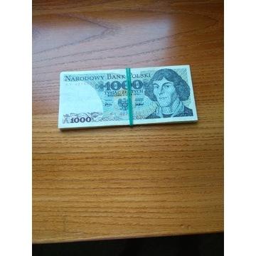 Plik banknotów PRL