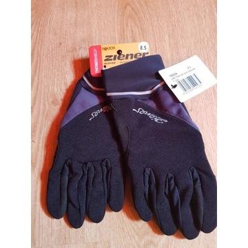Ziener rękawiczki rowerowe narciarskie 8.5