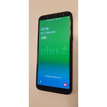 Smartfon Samsung Galaxy A6 z nakładką na magnes
