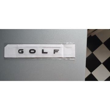 VW GOLF VII 8 VII 7 VI 6 VI emblemat napis logo