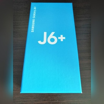 Samsung J6+ czarny Nowy gwarancja