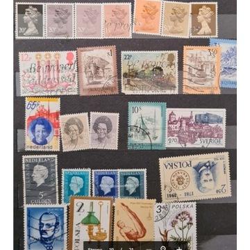 Znaczki pocztowe 3 segregatory zdjęcia wszystkich
