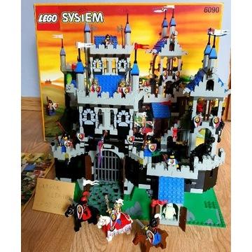 Lego 6090 Royal Knights Castle Pudełko instrukcja
