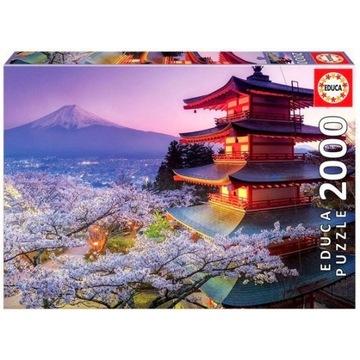 Puzzle Educa 2000 elementów, Mount Fuji Japonia