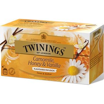 Herbata Twinings Camomile,Honey&Vanilla 25 Sztuk