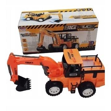 Traktor KOPARKA twarde MASZYNY-SAMOCHODY budowlane