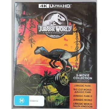 Jurassic Park 5 Movie Collection 4K PL
