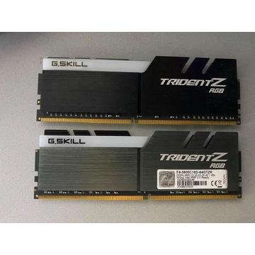 Pamięć RAM G.Skill TridentZ RGB Ddr4, 2x32 Gb 3600