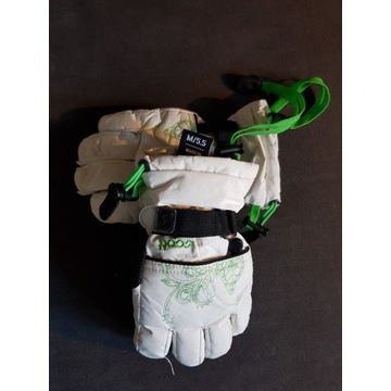 Scott rękawice narciarskie, białe M 5.5
