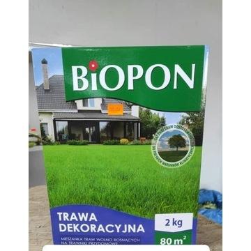 Trawą dekoracyjna Biopon 2 kg rzadkie koszenie