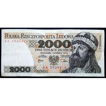2000 zł - 1979 - AK -