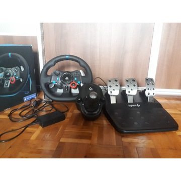 Kierownica Logitech G29 + shifter / PS4 / PC