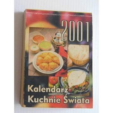 Kalendarz zdzierak 2001