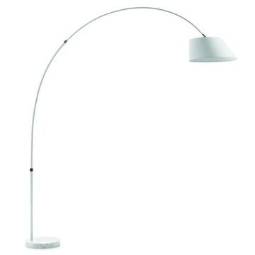 Lampa podłogowa Lee biała