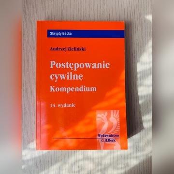 Postępowanie cywilne Kompendium. Andrzej Zieliński