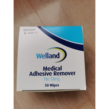 Welland Medical Adhesive Remover 50szt 11.2022