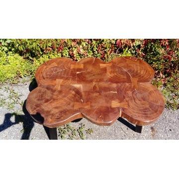WYPRZEDAŻ-Przepiękny stolik drzewa sheesham
