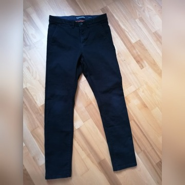 Spodnie h&m skinny roz 152