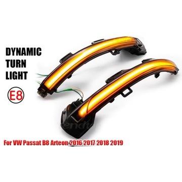 Kierunkowskazy dynamiczne VW Passat B8 Arteon