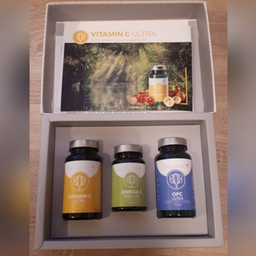 Witaminy Organic+ plus Zestaw Healthy Box