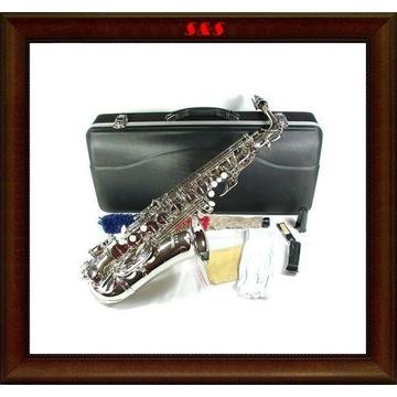 Saksofon altowy alt Jaeger MPM srebrny M095